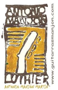 Logo GUITARRAS MANJON